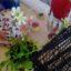ハエトリグサに花が咲く